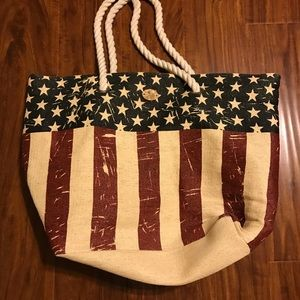 Americana beach bag
